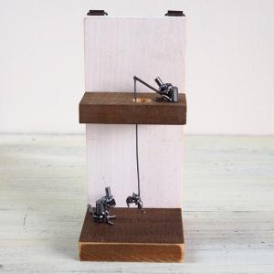 ブロンズ造形作家・コイズミタダシ コビトのオブジェ  「パスミーペイパー」|craftcafe