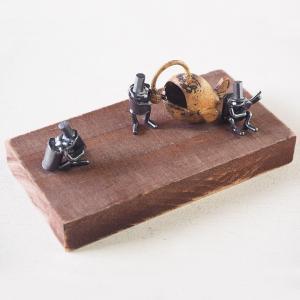 ブロンズ造形作家・コイズミタダシ コビトのオブジェ 「琥珀色ノスタルジィ」|craftcafe