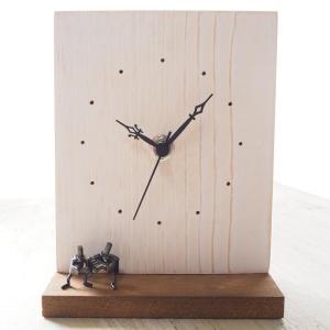 ブロンズ造形作家・コイズミタダシ コビトの置時計「椅子とりゲーム」|craftcafe