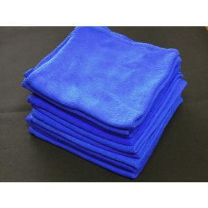 マイクロファイバー タオル 10枚セット  約30cm×30cm 洗車 拭き取り 窓の拭き取り |craftmarket