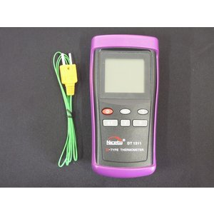 KタイプK型 熱電対温度計 ワイヤーセンサー付き -200℃〜1370℃|craftmarket