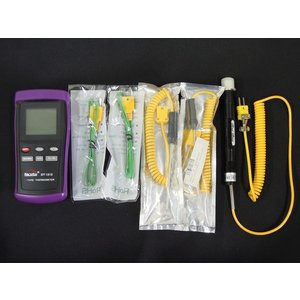 KタイプK型 熱電対温度計 ダブル測定 スーパーフルセット|craftmarket