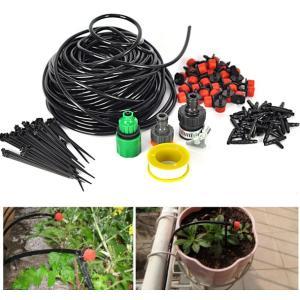 植木鉢、プランター用 細いタイプの25mホース付き 散水 水やり スプリンクラー 自動水やり|craftmarket