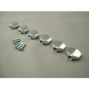 GOTOH(ゴトー)ミニサイズ シルバーノブ(ペグボタン) ネジセット|craftn