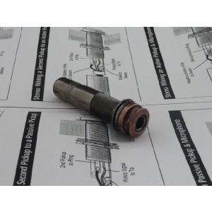 エンドピンジャック (4Pステレオ出力) ブロンズカラー 配線図付き|craftn