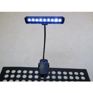 クリップタイプ 譜面台ライト・PA機器ライト ワイドタイプ 9LED|craftn