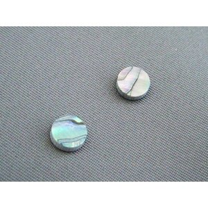 5mm径のアバロン貝(メキシコ貝) 2個1組 ポジションマークに|craftn