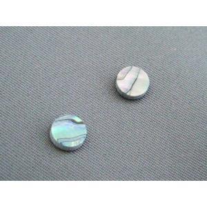 6mm径のアバロン貝(メキシコ貝) 2個1組 ポジションマークに|craftn
