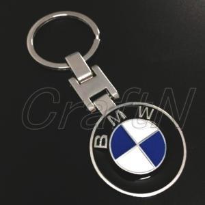 BMW ロゴキーホルダー キーリング 両面デザイン|craftn