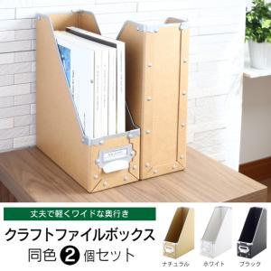 クラフト ファイルボックス 同色2個組|craftpark-k5