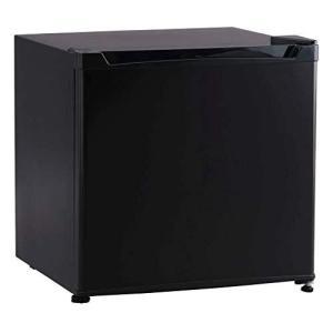 アイリスプラザ 1ドア 冷蔵庫 46L 右開き (幅47cm) ブラック PRC-B051D-Bの画像