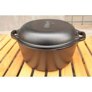 一般に販売されているテフロン加工や鉄製のフライパンと違って、厚みがあるのでまんべんなく熱が通りムラな...