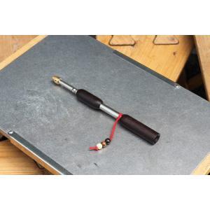 BBQ・焚火・薪ストーブ・暖炉など火力調整に使用いたします火吹き棒「ファイヤーブラスター」。 伸縮自...
