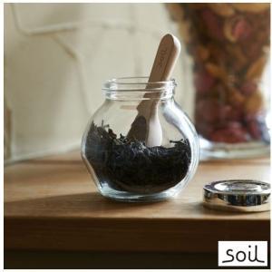 あすつく対応 COCHA-SAJI K313GR グリーン 珪藻土 衛生的 湿気 速乾 乾燥を保つ茶さじ soil ソイル|craseal