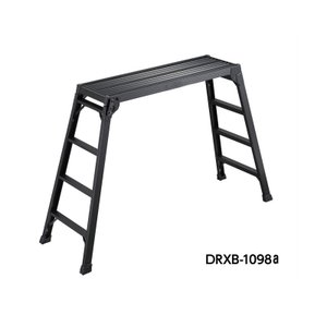 DRXB 足場台 DRXB-1098a スタンダードタイプ 足場板 おしゃれな踏台 ブラック 折り畳み ふみ台 踏み台 長谷川工業 HASEGAWA craseal