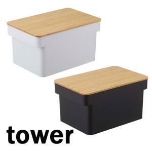 タワー/TOWER ブレッドケース ブレッドナイフホルダー付 ホワイト/04946 ブラック/04947 キッチン収納 【山崎実業/YAMAZAKI】パン 調味料入れ|craseal