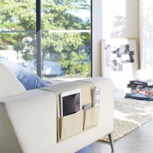 ポッキリ¥2.000 サイドポケット スマート/smart ベージュ 02789 リモコン収納 SIDE POCKET 山崎実業/YAMAZAKI|craseal