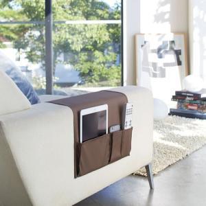 ポッキリ¥2.000 サイドポケット スマート/smart ブラウン 02790 リモコン収納 SIDE POCKET 山崎実業/YAMAZAKI|craseal