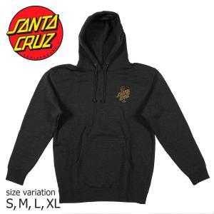 SANTA CRUZ P/O HOOD GLOW DOT CHACOAL HEATHER フーディー パーカー プルオーバー トップス サンタクルーズ|crass
