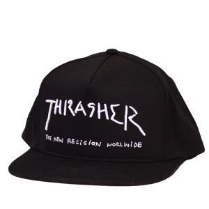 THRASHER NEW RELIGION キャップ スナップバック 帽子 スラッシャー メンズ レディース スケボー SK8 ストリート スケート|crass