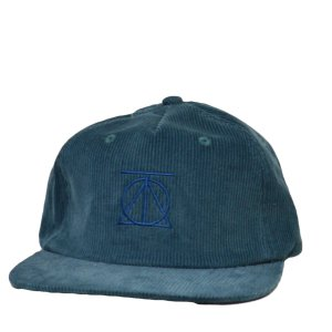 THEORIES キャップ Crest Corduroy Cap - Teal セオリーズ ストリート スケートボード 帽子 SKATE スケボー エメラルドグリーン|crass