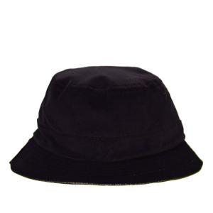 BRIXTON BANKS  HAT バケットハット ブリクストン BLK リバーシブル ストリート ハット スケボー SKATE 黒|crass