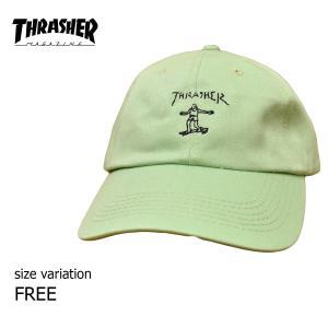 THRASHER キャップ GONZ OLDTIMER HAT マークゴンザレス ゴンズ スナップバック 帽子 スラッシャー メンズ レディース スケボー SK8 ストリート スケート|crass