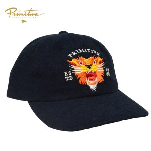 PRIMITIVE CAP キャップ TRADITIONAL DAD HAT NAVY ネイビー プリミティブ スケート ボード ウール 刺繍 メンズ スケボー  ストリート SKATEBOARD|crass