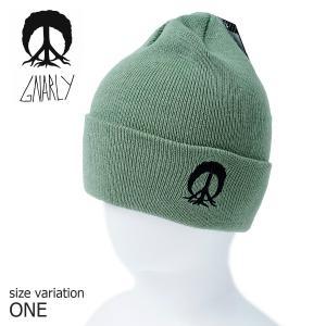GNARLY ビーニー ニット帽 TREEMONT BEANIE DRB One Size ナーリー スノーボード スノボ 帽子 防寒 crass