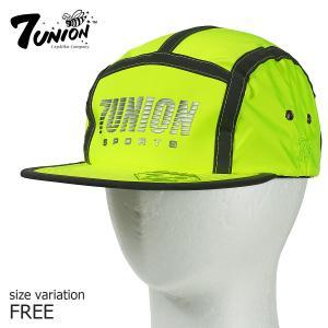 7UNION ランナーキャップ キャンプ ストラップバック 帽子 メンズ レディース リフレクター|crass