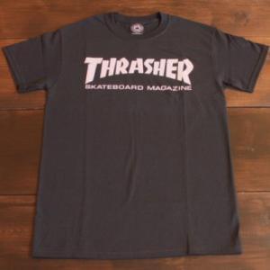 THRASHER Tシャツ スラッシャー セール MAG LOGO BLACK S M L メンズ レディース ブラック ストリート スケボー 正規品 半袖 ロゴ 黒|crass