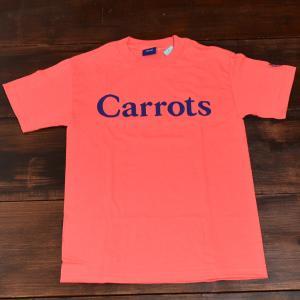 ANWER CARROTS Tシャツ WORDMARKS Sサイズ CORAL メンズ レディース skate ストリート|crass