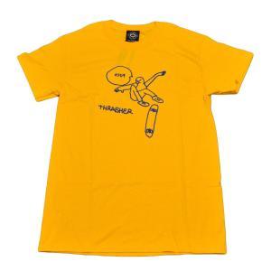 THRASHER Tシャツ スラッシャー K CUF T-SHIRTS マークゴンザレス  メンズ レディース ストリート スケボー 正規品 半袖|crass