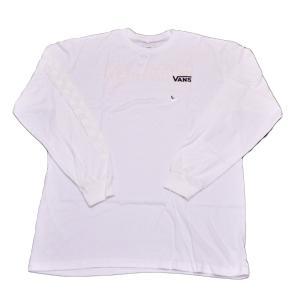 VANS×THRASHER 長袖Tシャツ バンズ スラッシャー チェッカー コラボ スケボー SK8 スケートボード 白|crass