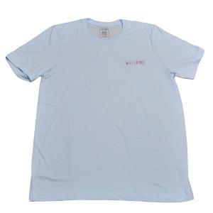 WELCOME (ウェルカム) S/S T-shirts 水色 SK8 T シャツ スケート ストリート スケートボード  正規品|crass