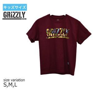 グリズリー GRIZZLY Tシャツ グリップテープ キッズ TJ ROGERS S/S YOUTH TEE 半袖  ユースサイズ 子供服|crass