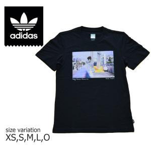 ADIDAS SKATEBOARDING Tシャツ アディダス ショートスリーブ 半袖 スケートボード PHOTO TEE NY スケボー メンズ BLACK 黒 SK8|crass