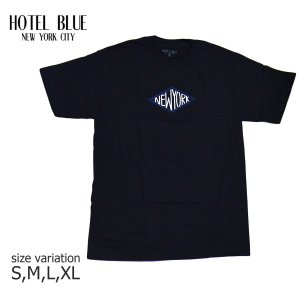 HOTEL BLUE NYC SKATE Tシャツ ホテル ブルー スケート ボード DIAMOND S/S TEE メンズ スケボー ストリート SKATEBOARD 黒 crass