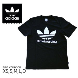 ADIDAS SKATEBOARDING Tシャツ アディダス ショートスリーブ 半袖 速乾 ドライ スケートボード CLIMA3.0 TEE スケボー メンズ BLACK 黒 SK8|crass