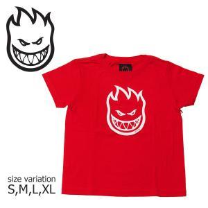 SPITFIRE Tシャツ YOUTH BIGHEAD TEE スピットファイヤ 半袖  ブランドロゴ メンズ ストリート スケートボード crass