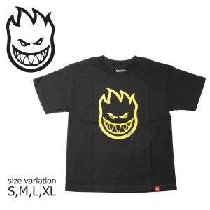 SPITFIRE Tシャツ YOUTH S/S BIG HEAD TEE スピットファイヤ 半袖 ブランドロゴ メンズ ストリート スケートボード crass