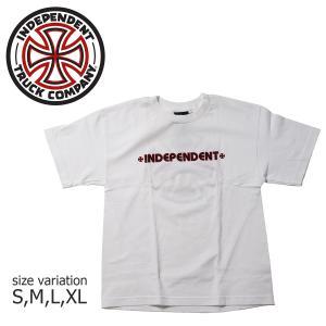 INDEPENDENT Tシャツ 子供服 BAR & CROSS YOUTH TEE インデペンデント  ストリート ファッション バークロス crass