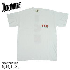 ICE TACHE Tシャツ アイスタッシュ スケートボード ICY POCKET S/S TEE 札幌 北海道 スケボー メンズ レディース|crass