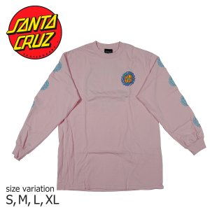 SANTA CRUZ SLIME BALL LOGO L/S TEE PINK Tシャツ ロンT トップス サンタクルーズ スライムボール|crass