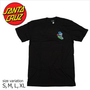 SANTA CRUZ UNIVERSAL HAND S/S TEE BLACK Tシャツ トップス サンタクルーズ|crass