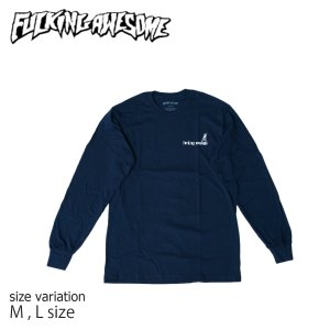 Fucking Awesome Wizards L/S Tee NAVY M L ファッキンオーサム キャップ Tシャツ 長袖 crass