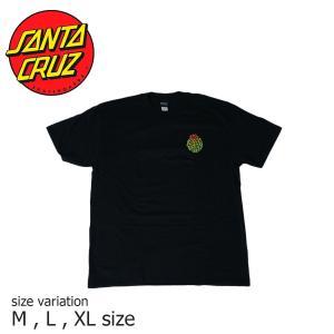 SANTA CRUZ CACTUS DOT S/S BLACK サンタクルーズ Tシャツ スケボー スケートボード  ストリート SKATE SK8 crass