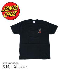 SANTA CRUZ SALBA DOT S/S BLACK サンタクルーズ Tシャツ スケボー スケートボード  ストリート SKATE SK8 crass