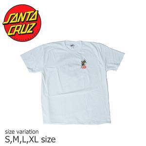 SANTA CRUZ SALBA DOT S/S WHITE サンタクルーズ Tシャツ スケボー スケートボード  ストリート SKATE SK8 crass