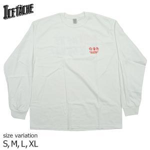 ICE TACHE Sorry We're ICETACHE TEE L/S S M L XL Tシャツ アイスタッシュ スケートボード 札幌 北海道 スケボー メンズ レディース crass